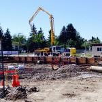 Pouring Concrete 7/28/2014